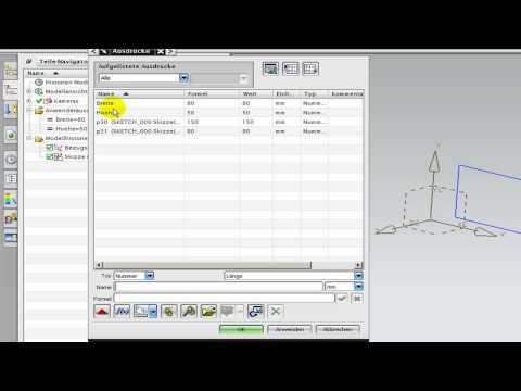 Unigraphis NX 6 NX 7.5 Ausdruck erzeugen, steuern und zuweisen