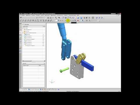 Unigraphics NX 6 NX 7.5 Sequenzen erstellen.mov