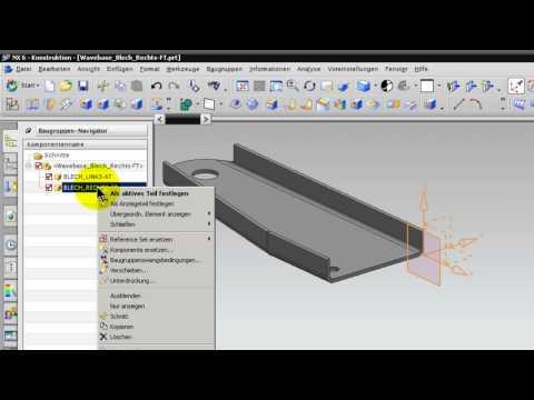 Unigraphics NX 6 NX 7.5 Spiegelteile .mov