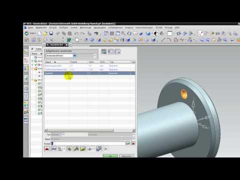 Unigraphis NX 6 NX 7.5 Assoziativer Kopie mit Ausdruecken erstellen